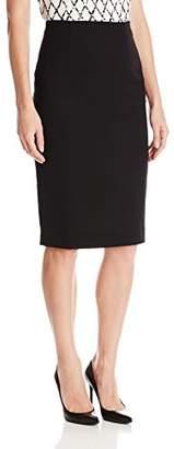 Ellen Tracy Women's Petite Size High Waist Pencil Skirt