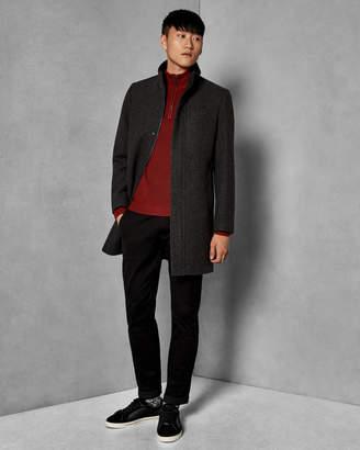 Ted Baker CHEAGO Funnel neck coat