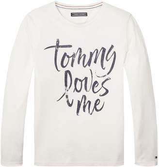 Tommy Hilfiger TH Kids Tommy Loves Me Sweater