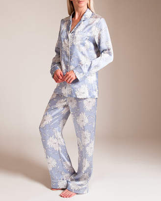 Bracli Olivia Von Halle Lila Kiko Silk Pajama