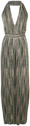 M Missoni metallic sheen jumpsuit