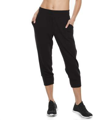 Tek Gear Women's French Terry Jogger Capri Sweatpants