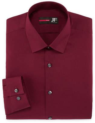Jf J.Ferrar Jf Easy-Care Solid-Big & Tall Long Sleeve Dress Shirt