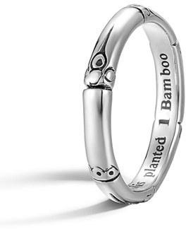 Women's John Hardy 'Bamboo' Silver Ring