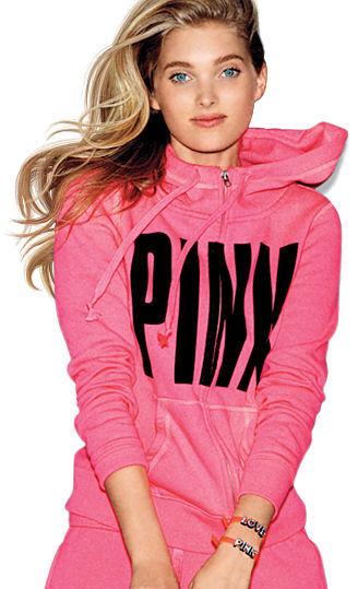 Victoria's Secret PINK Funnel-neck Perfect Zip Hoodie