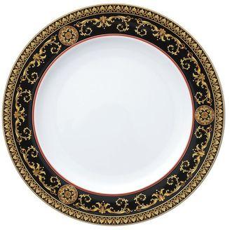Medusa Red Porcelain Dinner Plate