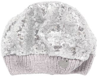 MonnaLisa Sequined Chenille Hat