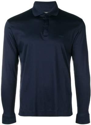 Ermenegildo Zegna long sleeved polo sweater