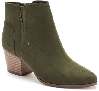 Apt. 9® Women's Block-Heel Ankle Boots $69.99 thestylecure.com
