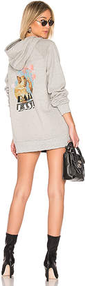 Baja East Puff Puff Pass Miami Hoodie Dress