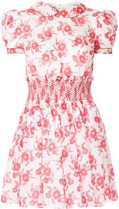 Miu Miu floral print smock dress