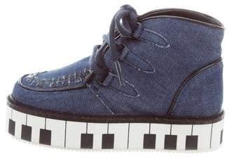 Stella McCartney Girls' Platform High-Top Sneakers