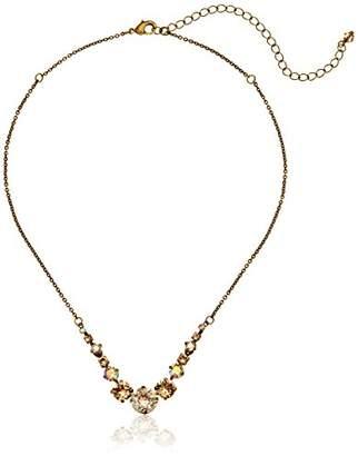 Sorrelli Delicate Round Crystal Necklace