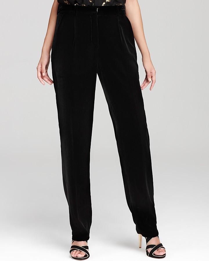 Diane von Furstenberg Pants - Velvet