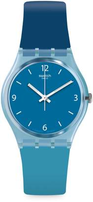 Swatch Energy Boost Fraicheur Silicone-Strap Watch