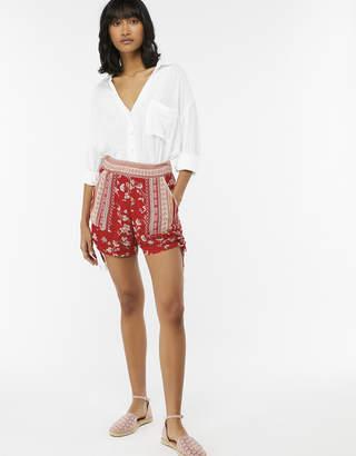 Monsoon Priscilla Print Shorts