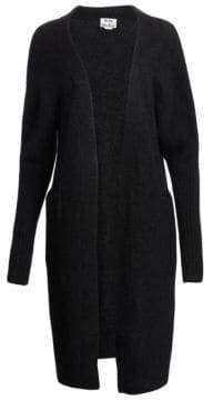 Acne Studios Raya Long Mohair Open Cardigan