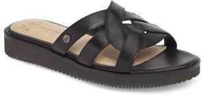 Hush Puppies R) Braid Slide Sandal