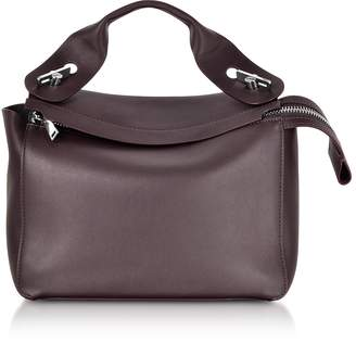 Sophie Hulme Oxblood Bolt Shoulder Bag