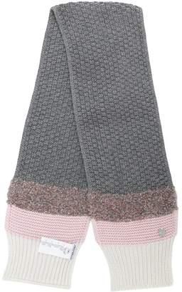 Simonetta textured woolen scarf