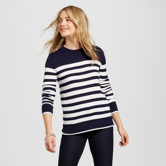 Merona Women's Striped Pullover $19.99 thestylecure.com