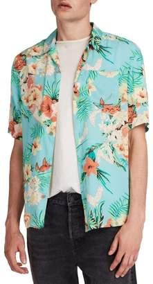 AllSaints Calypso Regular Fit Sport Shirt