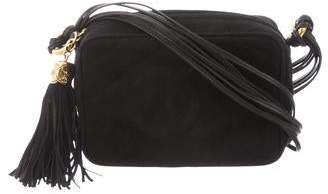 Chanel Suede CC Camera Bag