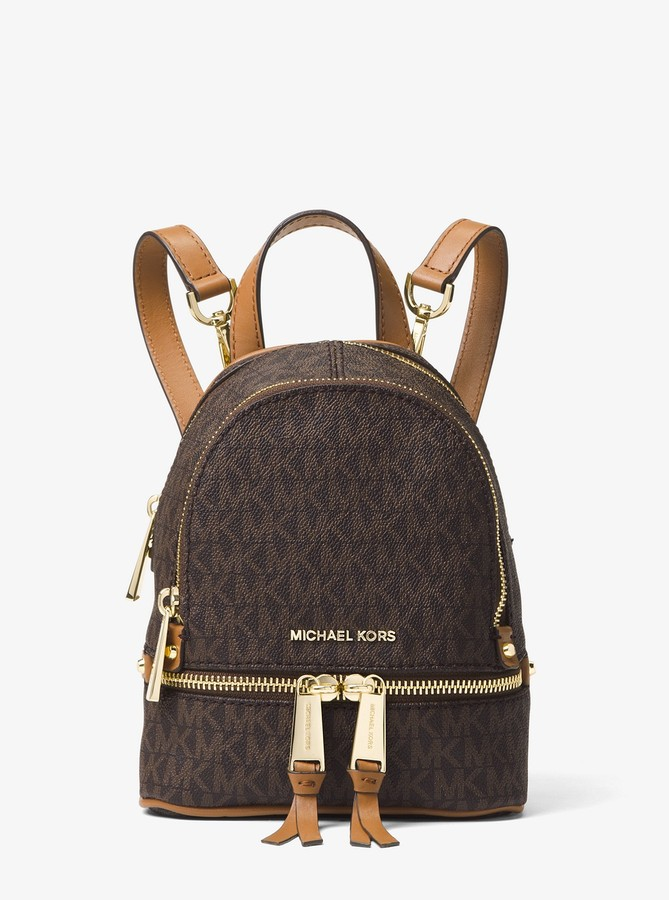Michael Michael Kors Rhea Mini Logo Backpack detail image