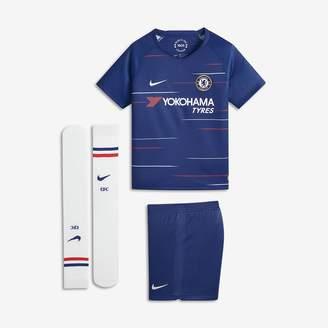 Nike 2018/19 Chelsea FC Stadium Home Little Kids' Soccer Kit