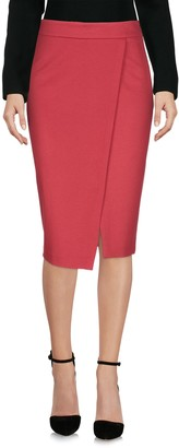 Les Copains Knee length skirts - Item 35383988VA