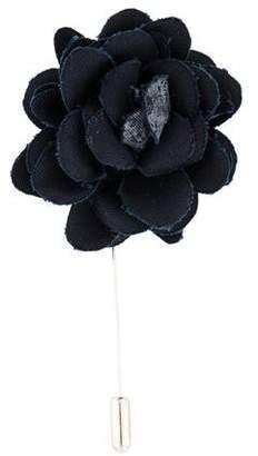 Lanvin Fabric Flower Brooch