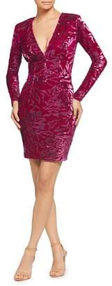 Dress the Population Riley Sequined Velvet Dress