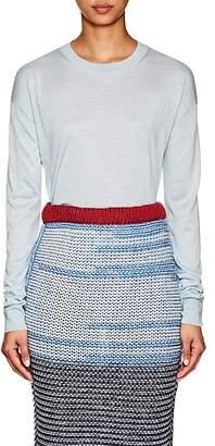 Calvin Klein Women's Mélange Silk Crewneck Sweater