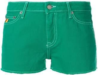 Mira Mikati basic denim shorts