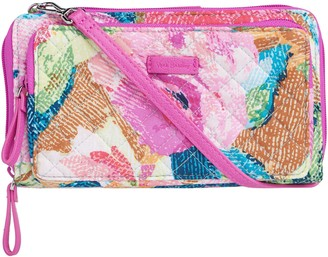 Vera Bradley Iconic Deluxe Signature All Together Crossbody Bag