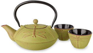 Adagio Teas Japanese Style Cast Iron Teapot With Cups = Toshima