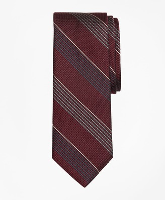 Brooks Brothers Sidewheeler Stripe Tie