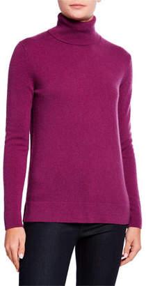 Neiman Marcus Cashmere Turtleneck Sweater