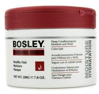 Bosley NEW Professional Strength Healthy Hair Moisture Masque (For Dull and Dry