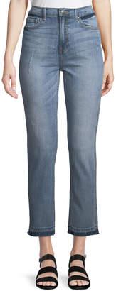 Evidnt Straight-Leg Light-Wash Jeans