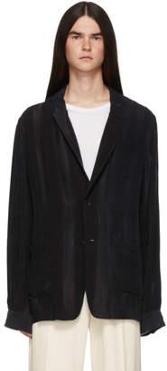 Ann Demeulemeester Black Warbler Jacket