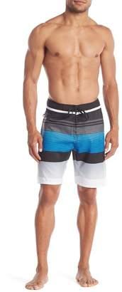 Burnside Patterned Woven Boardshorts