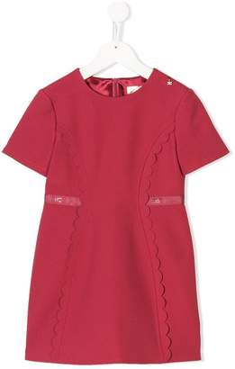 Elisabetta Franchi La Mia Bambina belt embellished dress