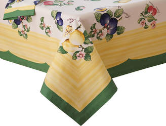 """Villeroy & Boch French Garden 68"""" Square Tablecloth"""