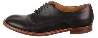 Maison Margiela Leather Round-Toe Oxfords