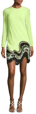 Emilio PucciPrinted Silk Short Dress
