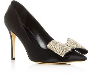 Kate Spade Women's Viena Embellished Bow Pointed-Toe Pumps