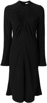 Chloé long-sleeved flared dress