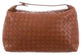 Bottega Veneta Intrecciato Leather Pochette