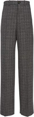Marni Relaxed Fit Checked Trouser